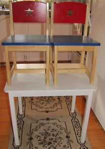 Child`s Table & Chair Set