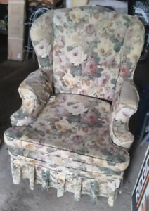 FREE 2 antique wing chairs