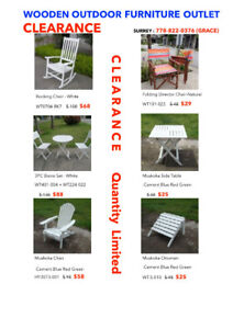 Wooden Outdoor Furniture Clearance