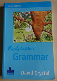 Rediscover grammar by David Crystal