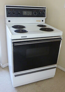 "White Stove 30"" great condition"