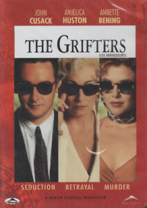The Grifters, John Cusack, Angelica Huston Brand New, Sealed DVD