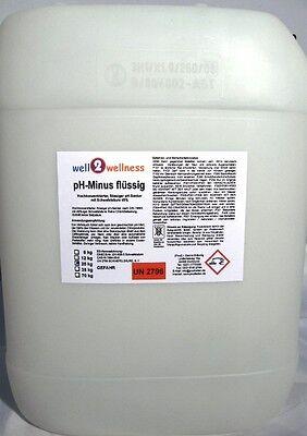 pH Minus flüssig / pH Senker flüssig / pool pH- Minus flüssig 25 kg