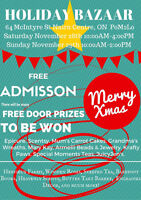 Holiday Bazaar This Weekend in Nairn Centre