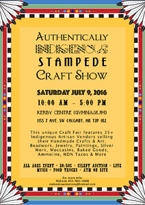 Authentically Indigenous Stampede Craft Show