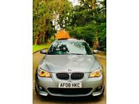 FULLY LOADED - 2008 BMW 535D 3.0 Twin Turbo M Sport Auto -RARE SPACE GREY / 530D