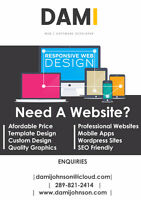 In need of a professional website? i can help you!