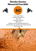 ATTENTION ALL 50CC & 65CC DIRT BIKE RIDERS!!!