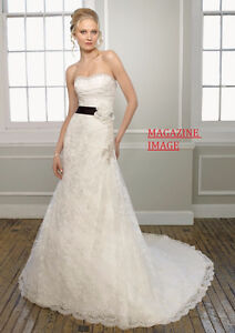 Morilee Embroidered Lace Wedding Dress