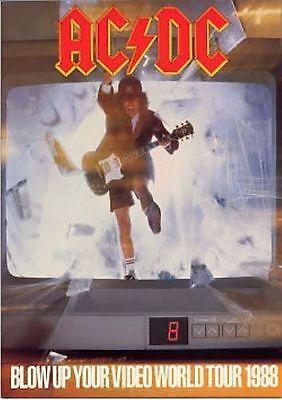 AC/DC - BLOW UP YOUR VIDEO ORIGINAL PROGRAM 1988