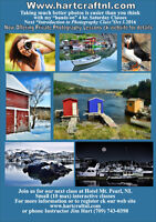 Learn to take better Photos. Intro Course Oct 1. Hotel Mt Pearl