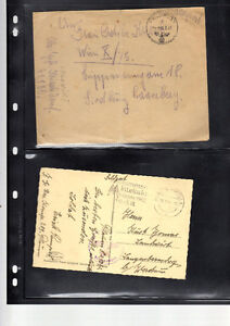 a lot of 178 1939-45 wwII German feldpost  cover with letter