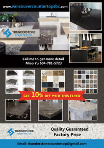 Factory Price Countertop on Sale for Kitchen / Bathroom