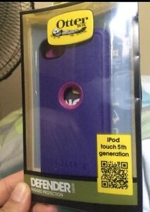 Otterbox Commuter for iPod 5th gen - Discontinued purple case