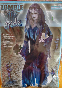 Adult One Size Zombie Bride Costume