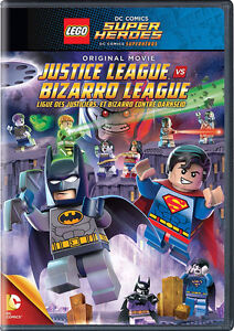 Lego Super Heroes Dvd and blu-ray