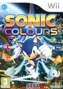 Jeu wii Sonic Colours
