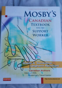 Mosbys Canadian Text & Workbook for the Support Worker