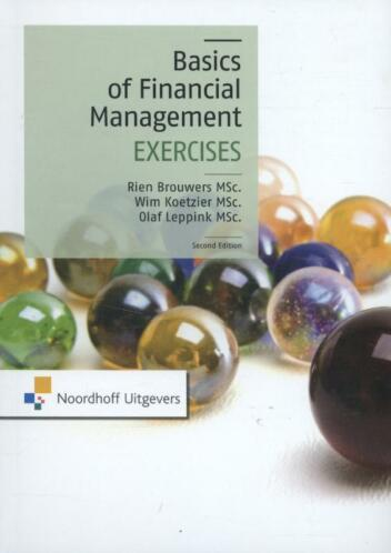 Basics of financial management 9789001839123