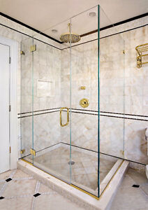 Luxurious Glass Shower Door with Hinges and Handles - New! Regina Regina Area image 3