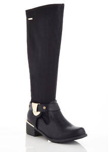 NEW Lady Godiva Women's Violet-4 Riding Boots Black Sz 10