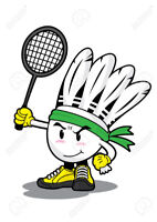 Badminton, Central Mississauga, $60/person (now to June 2019)