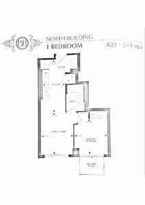 BEVERLY HILLS CONDOS - 1 BEDROOM PARKING & LOCKER INCL