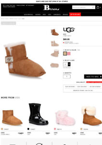 Baby Uggs Size Lg