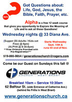 ALPHA Course Brantford - Explore the Meaning of Life
