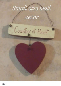 $2  Cute Country Themed wall hanging
