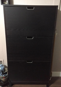 Ikea shoe storage cabinet