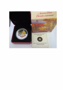 "2013 RCM ""Autumn Bliss"" 1oz Fine Silver Coin"