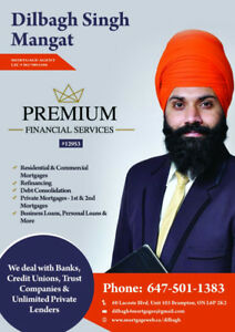 PRIVATE 1ST/2ND MORTGAGE,CONSTRUCTION LOANS,REFINANCE FROM BANKS