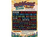 2x Solfest 2016 Adult Weekend Camping Ticket for sale