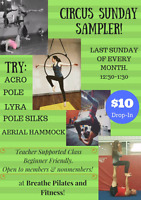 Drop in Acro and Aerial class