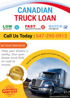 Truck and Trailer loan