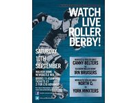 Newcastle Roller Girls invite you to watch Live Roller Derby