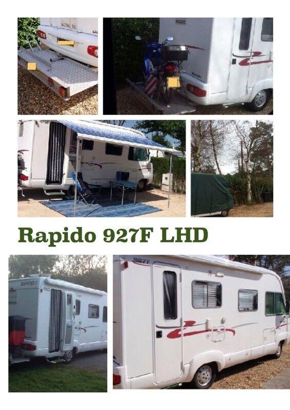 Rapido 927F, left hand drive motorhome