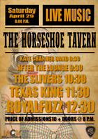 ROCK! At The Horseshoe Tavern April 29th 5 Bands! Be there!