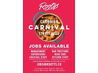 Restaurant Manager, waiting and kitchen staff required
