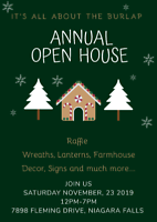Annual Christmas Open House by It's All About The Burlap