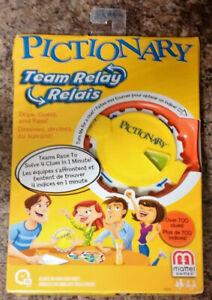 Pictionary Team Relay Clue Game F/S