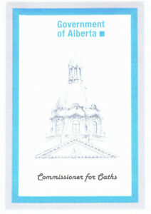 $20 Downtown Commissioner for Oaths services