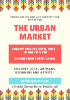Local Vendors Wanted for Urban Market
