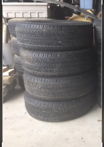 265/70 R16s and R 17s
