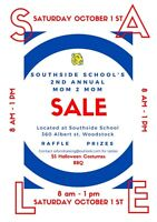 Southside School's 2nd Annual Mom To Mom Sale