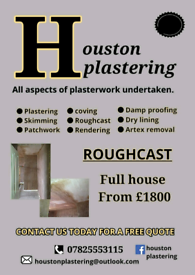 PLASTERER AVAILABLE TO TAKE ON WORK BEFORE CHRISTMAS! GET IN TOUCH