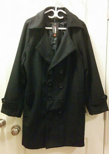 Men's Black XL Long Jacket Coat (Brand New)