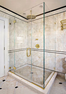 Luxurious Glass Shower Door with Hinges and Handles - New! London Ontario image 8