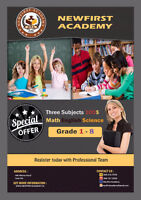 English Math Science G 1-8 100 A MONTH